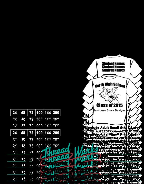 T Shirt Sale Flyer